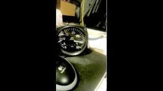 Tweaked the tachometer