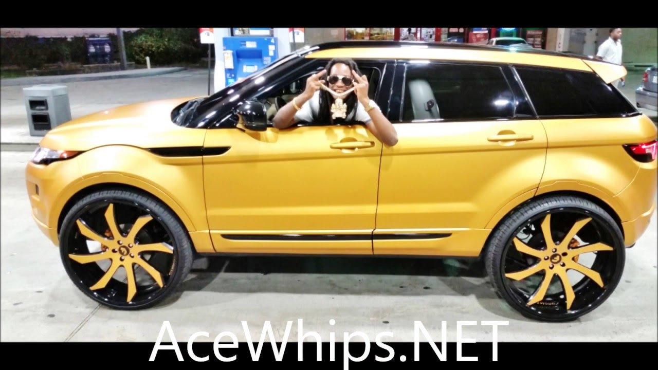 Acewhips Net Rover Evoque On 26 S Forgiatos Wrapped By