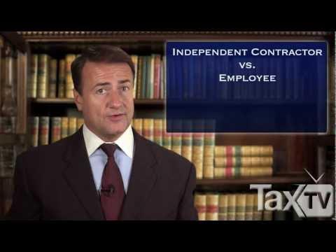 Independent Contractor vs Employee - www.TaxTV.com