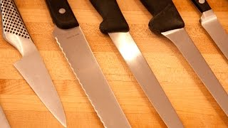 Kitchen Knives Essential Tutorial