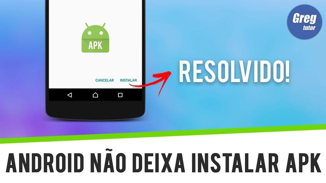 Android não deixa instalar aplicativo apk – RESOLVIDO  #Smartphone #Android