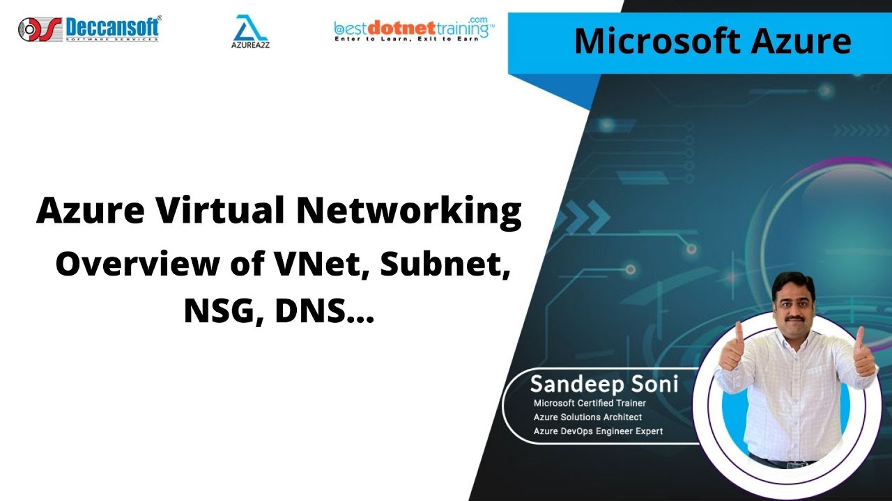 Azure Administrator Tutorial Part-1   Azure Virtual Networking   Overview of VNet, Subnet,