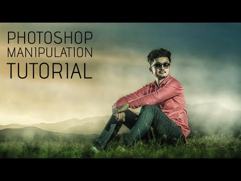 Photoshop Tutorial | Compositing & Manipulation Photo Effects | Color Grading