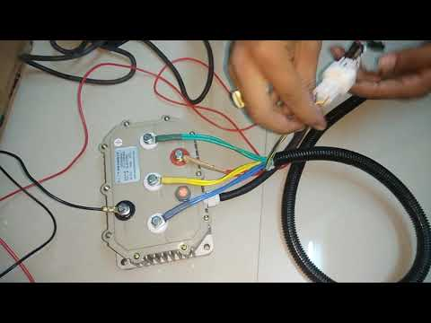 Bldc motor connection with Kelly controller & throttle - YouTube on