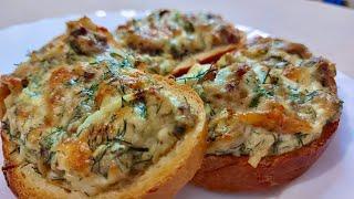 Горячие бутерброды Простой и легкий рецепт