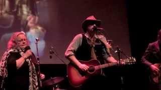 """Ken Tizzard w/ Jane Archer- """"Pale Blue Sky"""" (LIVE 2015 """"No Dark No Light Tour"""")"""