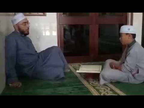 Syekh hisyam abdul bari  membenarkan bacaan Ahmad naufal dari surah Al baqarah ayat 89