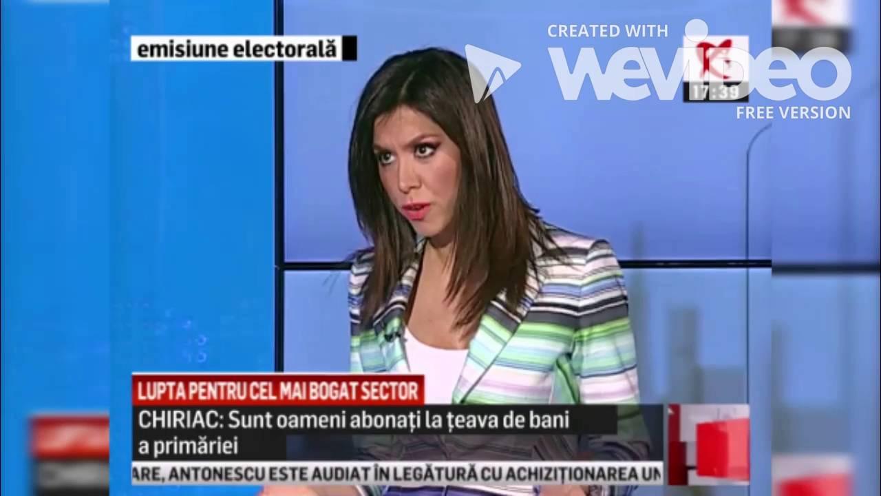 VIDEO Realizatoarea Realitatea TV Denise Rifai, replica ...  |Denise Rifai