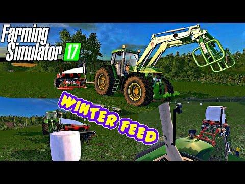 (Music)Farming Simulator 2017 | Making Winter Feed On Coldborough Park Farm |1080P 60FPS😍
