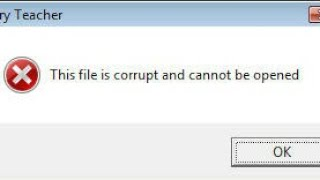How to repair corrupted video or any file