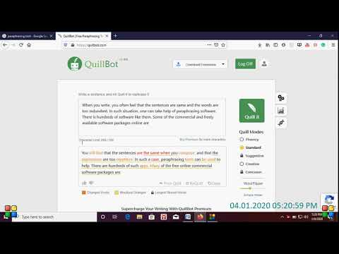 Paraphrasing By Quillbot Change Your Sentence Youtube Software That Paraphrase Sentences