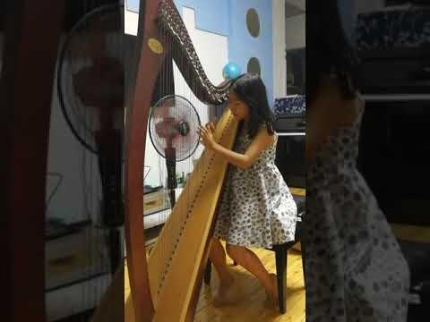Rondo by Nigel Springthorpe   harp music