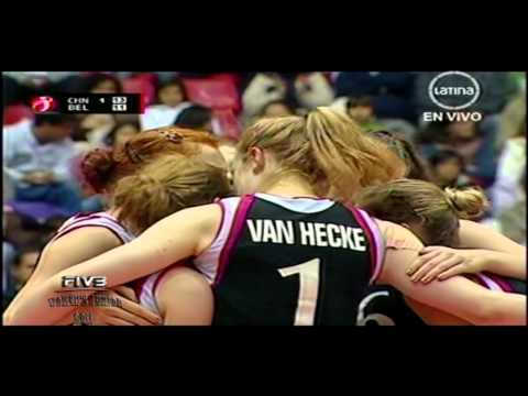 China x Belgica 2set FIVB Women's Junior 2011