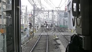 【HD】阪急京都線 通勤特急河原町行き 全区間前面展望 梅田~河原町