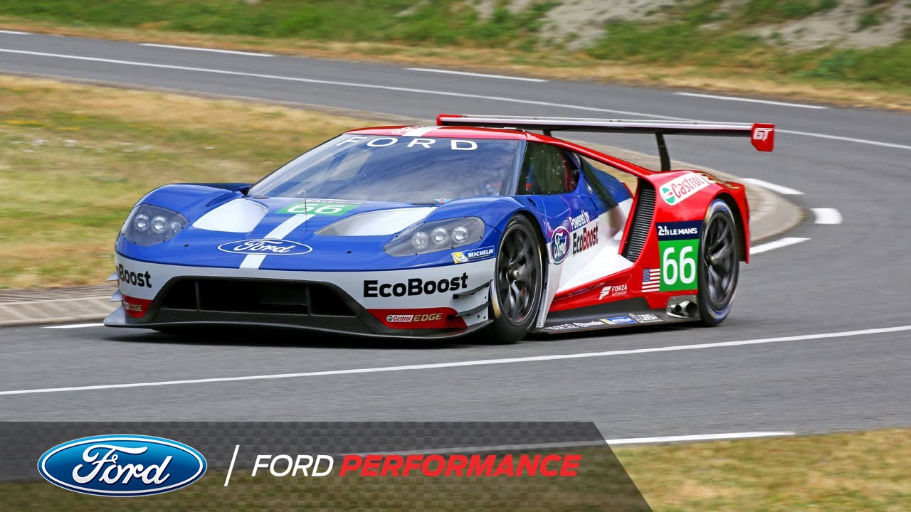 Ford gt returns to le mans imsa ford performance youtube