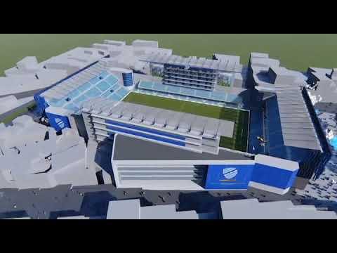 Nuevo Estadio Club Bolivar Inauguración 2019 Por Ismael Carvajal Vogtschmidt Youtube