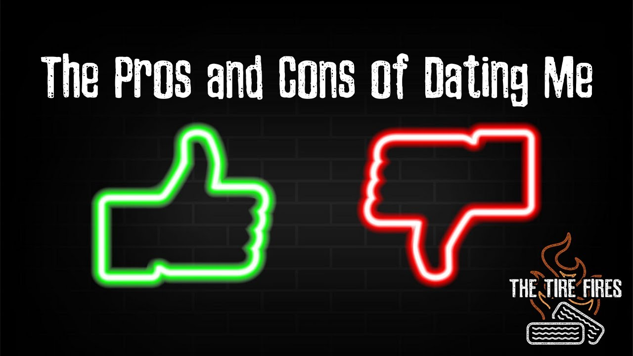 The Pros and Cons of Dating Me lyric video