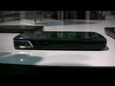 New Samsung Beam with projector software/hardware tour MWC 2010 full hd