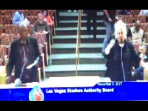 Las Vegas Woman Asks Why Have Contract To Hire Minorities For Oakland Raiders NFL Stadium