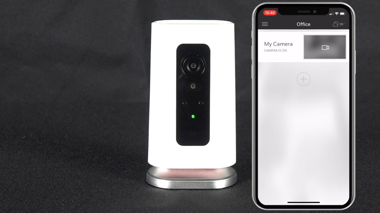 Setting Up the Lyric C1 Camera Through The Honeywell Home App