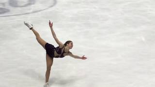 Carolina Kostner Milano 2018 World Championships FS