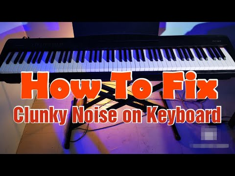 How To Fix Repair Clunky Keyboard Roland Fp30 Fp30x Digital Piano Rha 4 Youtube