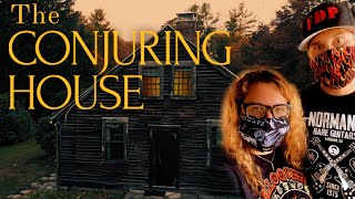 THE REAL CONJURING HOUSE: 3 Investigators, 1 Night - Paranormal Investigation