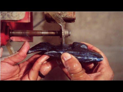 Curso Como Fazer Lapidação de Pedras Para Peças Decorativas - Corte e Formação
