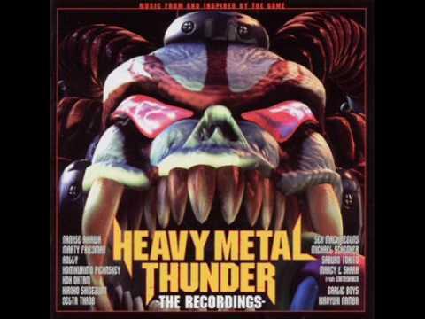 The sex machineguns heavy metal thunder