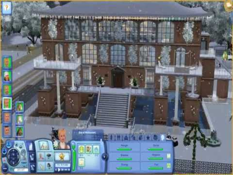 The Sims 3 How to get Holiday Lights - YouTube