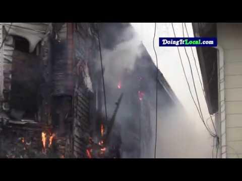 Bridgeport News: Fire on Hanover Street