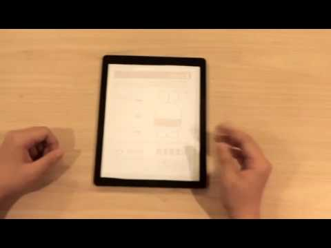iPad 2: Thermal printing with using a thermal paper
