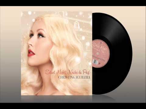 Silent Night Noche de Paz  Christina Aguilera
