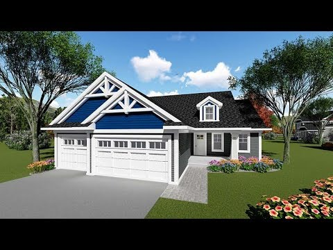 Ranch House Plan 75255 at FamilyHomePlans