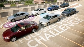 $38,000 Full-Size Sedan Challenge Features -- Cars.com Video Review