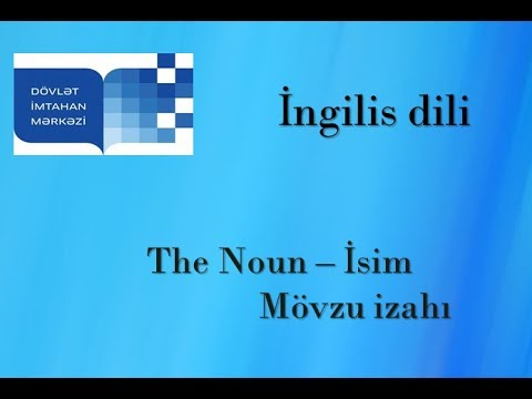 English lesson 7, Definite and indefinite article in English, part1\ İngilis dili dərsi 7, A,an,the from YouTube · Duration:  29 minutes 56 seconds