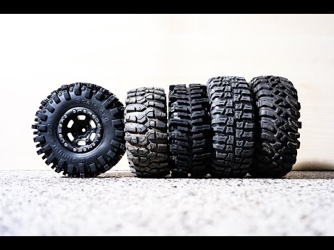 2.2 scaler crawler tires comparison & Proline Titus wheels