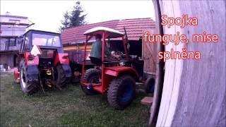 Oprava spojky traktor Svoboda
