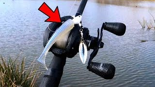 This Lure Catches BIG Fish in COLD Water (Fishing w/ Subscriber)
