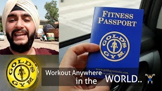 How to get Golds Gym Travel Pass🏋️‍♂️