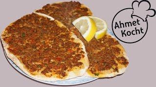 Lahmacun mit Chilischoten | AhmetKocht | türkisch kochen | Folge 226
