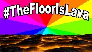 What is #thefloorislavachallenge? A look at the floor is lava social media challenge