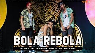 Bola Rebola - Tropkillaz, J Balvin, Anitta - ft. MC Zaac - Coreografia   Mexe+