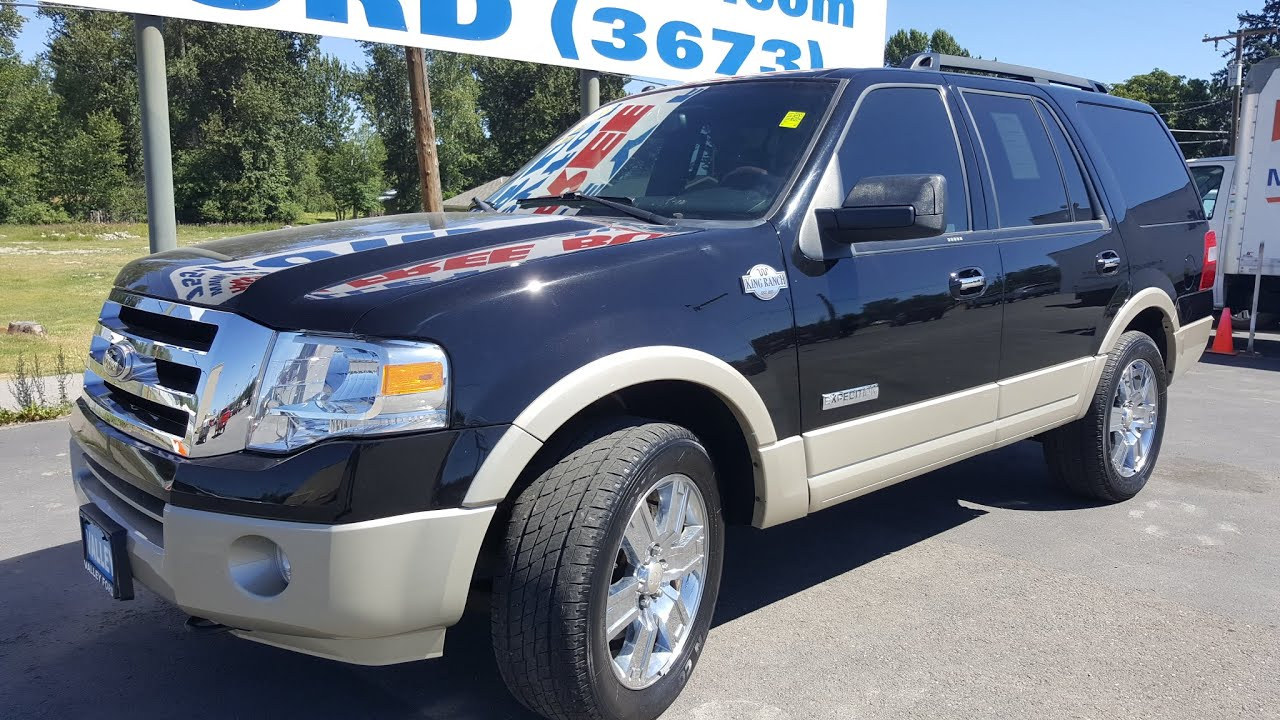 2008 ford expedition king ranch