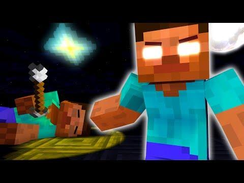 Monster School : Herobrine's Life (The Story Of Monster School) - Minecraft Animation
