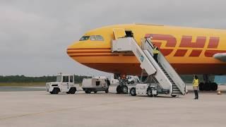 DHL bei der FMG-FlightTraining !