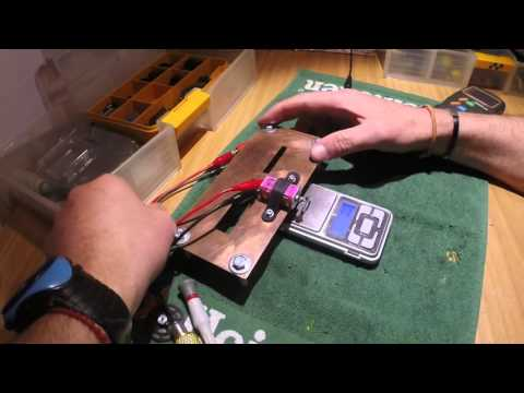 How to Dyno slot car's motor