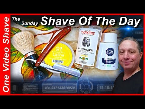 Sunday Shave Of The Day #OVS, ZY 430+ Pro Straight Razor Shave, Barrister & Mann LATHA LIMON, #SOTD
