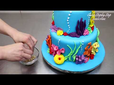 Finding Nemo Cake - How To Make by CakesStepbyStep