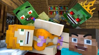 Top 3 - Best Love Story | The Minecraft Life of Alex & Steve - Minecraft Animation